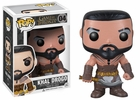 "Funko Pop T.V. Game of Thrones #04 Khal Drogo Vinyl 3.75"" Figure"