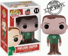 "Funko Pop T.V. The Big Bang Theory #11 Sheldon Cooper Vinyl 3.75"" Figure"
