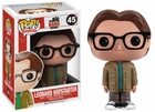 "Funko Pop T.V. The Big Bang Theory #45 Leonard Hofstadter Vinyl 3.75"" Figure"