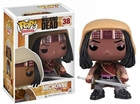 "Funko Pop T.V. The Walking Dead #38 Michonne Vinyl 3.75"" Figure"