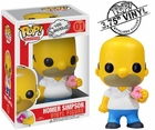 "Funko Pop The Simpsons #01 Homer Simpson Vinyl 3.75"" Figure"
