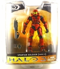 Halo 3 Series 1 McFarlane Toys Red Spartan CQB Action Figure