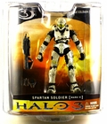 Halo 3 Series 1 McFarlane Toys White Spartan Action Figure