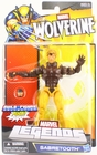 Marvel Legends Build a Figure Puck Series Sabretooth Action Figure
