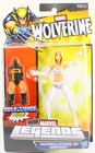 Marvel Legends Build a Figure Puck Series White Queen Emma Frost Action Figure