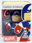 Marvel Mighty Muggs Captain America Vinyl Figure