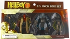 "Mezco Toyz Hellboy 2 The Golden Army 3 3/4"" Action Figure Box Set - Hellboy, Wink, Johann & Liz Sherman"