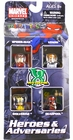Marvel Minimates Heroes Adversaries, Deadpoool, Spider-Man, Venom & Wolverine