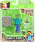 Mojang Minecraft series 1 Zombie Action Figure