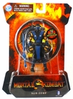 "Mortal Kombat WB Games Sub-Zero 4"" Action Figure"
