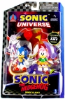Sonic the Hedgehog Sonic the Hedgehog Jazwares Sonic & Amy Action Figure