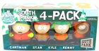 South Park Mezco Toyz Cartman, Stan, Kyle & Kenny Action Figure 4-Pack