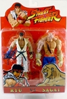 Street Fighter Ryu vs Sagat Toy Fair Exclusive 2 Pack Sota Toys Action Figures