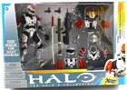 The Halo 3 Collection Armor Pack Spartan Soldier Rogue, COB,  Scout and Hayabusa McFarlane Toys Action Figure