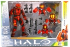 The Halo 3 Collection Armor Pack Spartan Soldier Scout, Eva, CQB & Odst Action Figure