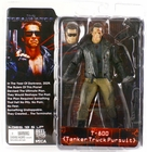 The Terminator Neca T-800 Tanker Truck pursuit Action Figure