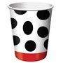 Fire Fighter Dotted Paper Cup