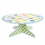 Happy Birthday Patterned Cake Stand