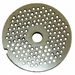 "Alfa Chopper Plate 18"" 4mm -SS Grinder Meat Grinder Model mc5 12 1/8"