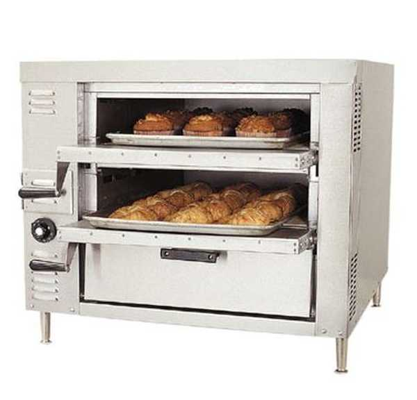 Bakers Pride Countertop Pizza Oven Reviews : Bakers Pride OvenCountertopGasPizza/BakeSingle Compartment Two 21