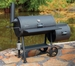 Bayou 36� Heavy Steel Smoker Grill with Firebox, Model 500-436