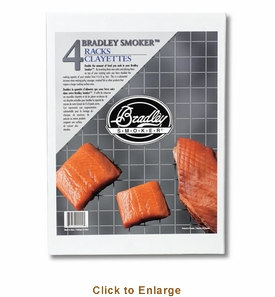 Bradley Smoker Rack Doublers Extra Racks Set Of 4 , Model# BT4XR