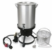 Cajun Injector Gas Turkey Fryer (Knock Down)  w/Valve, w/Timer, w/Basket