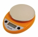 Escali Primo NSF Listed Digital Scale, 11 Lb / 5 Kg - Pumpkin Orange