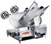 Fleetwood 12'' Heavy Duty Slicer - 1/2 HP