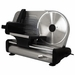 "FoodSaver Game Slicer Elite - 8.6"" Quick Release Solid SS Blade - 150 Watt Motor - Heavy Gauge Construction with SS Detachable Carrige-  Adjustable Thickness Knob"