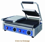 Globe Panini Grills Sandwich Grills and Hot Dog Roller Grills
