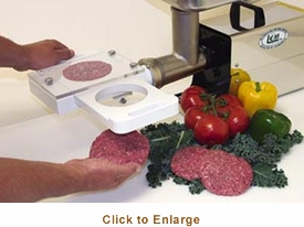 LEM Auto Patty Maker - Meat Grinder Attachment