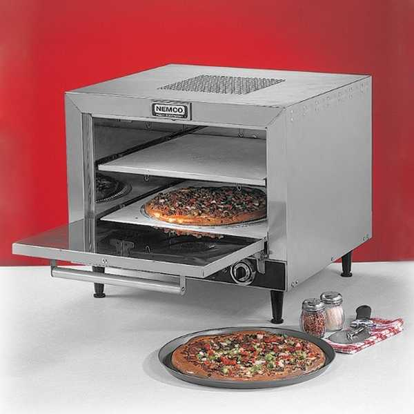 Best Commercial Countertop Pizza Oven : ... of Nemco Electric Countertop Pizza Oven 120V 1800W, Model# 6205