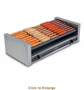 NEMCO Roller Grill, Slanted, 36 Hot Dogs, Model# 8036-SLT