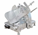 Omcan Meat Slicer manual gravity feed 14 dia knife 400 W Model 23544