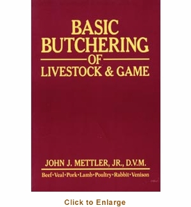 Sausage Maker Book: Basic Butchering Of Livestock & Game, Model# 71700