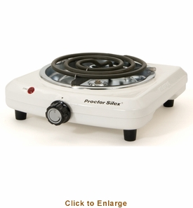 Sausage Maker Proctor Silex 34101Y Fifth Burner, Model# 42201
