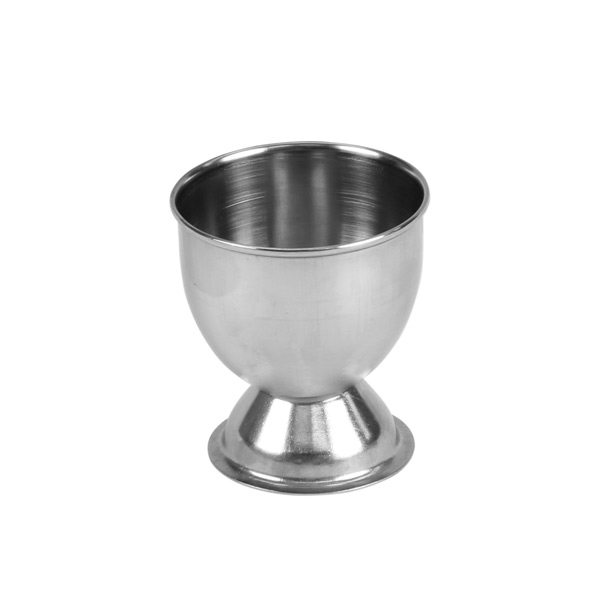 "Thunder Group 2"" X 2 1/8"" H Footed Egg Cup, Stainless Steel THUN-SLEC001"