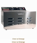TSM Stainless Steel 5-Tray Dehydrator Model D5