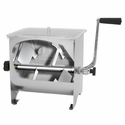 Sausage Maker  Stainless Steel Manual Meat Mixer - 20 lb Capacity
