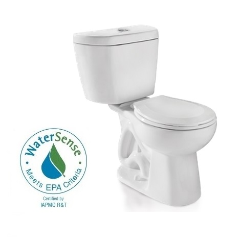 Niagara Stealth™ N7716 0.8 GPF Ultra High Efficiency Toilet - Tank and Round Bowl