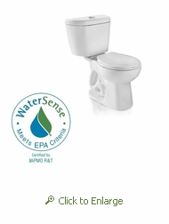 Niagara Stealth™ N7716 0.8 GPF Ultra High Efficiency Toilet - Round Bowl