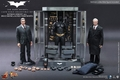 Hot Toys Dark Knight Rises Batman Armory With ALFRED & BRUCE WAYNE