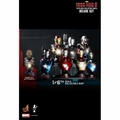 Hot Toys Marvel Iron Man 3 Movie 1/6 Scale DELUXE BUST Set