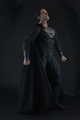 "NECA DC Comics Man of Steel Black Suit Superman 1/4 Scale 18"" Figure"