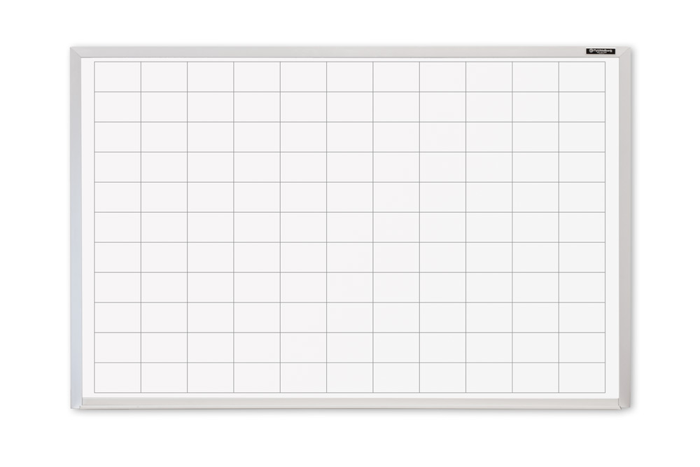 2x3 Dry Erase Board With Grid Lines