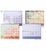 Artist Series Magnetic Dry Erase Calendars