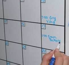 large dry erase calendars from optima