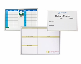 Economy Custom Printed Dry Erase Hospital Boards