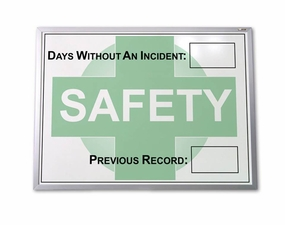 Lost Time Safety Tracking Boards